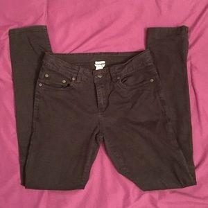 Girl's black jeans